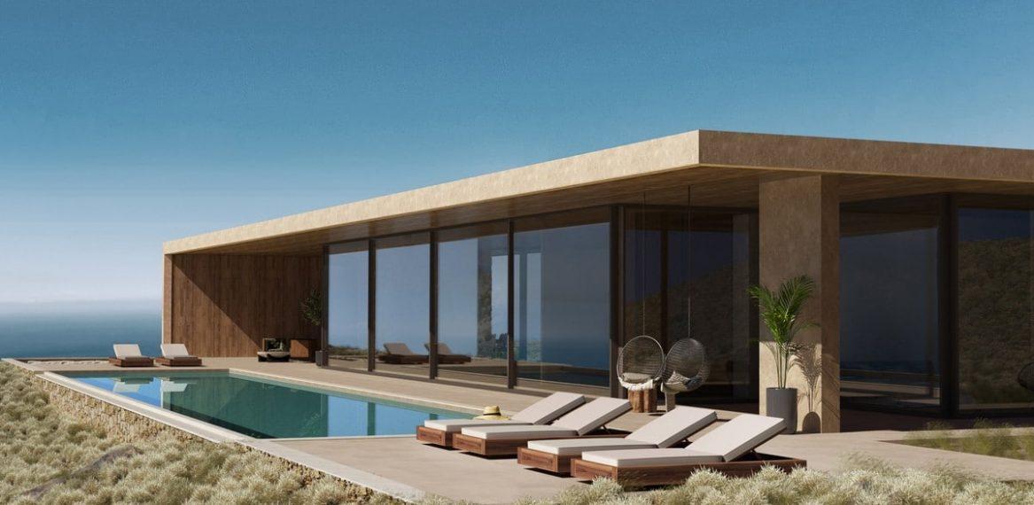 modern villa - zakynthos - greece- real estate - luxury