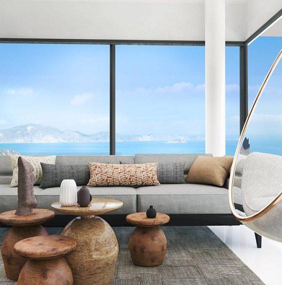 villa moderne - zakynthos - grèce- immobilier - luxe
